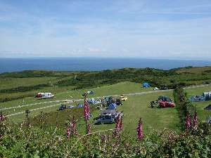 Campsites in devon near beach
