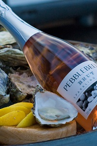 Devon vineyards wines Pebblebed Sparkling rose