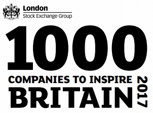 London Stock Exchange Group – 1000 Companies to Inspire Britain 2017