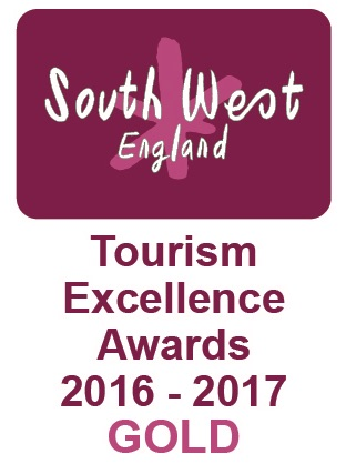 Gold Winner, Glamping, South West Tourism Excellence Awards