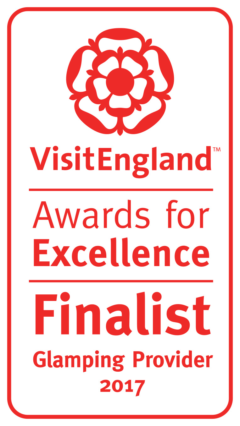 Finalist, Glamping Provider of the Year, VisitEngland Awards for Excellence