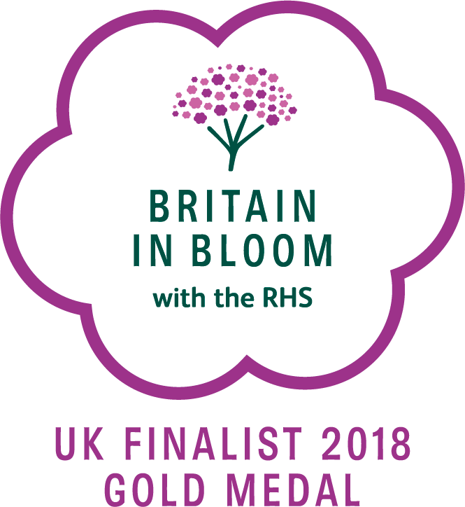 RHS Britain in Bloom - UK Finalist Gold Medal - 2018