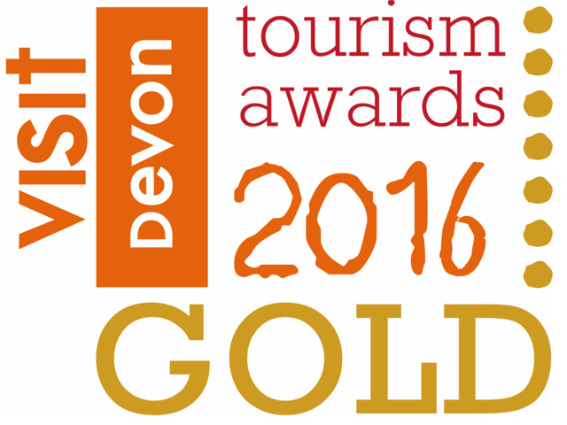 Gold Winner, Glamping Business of the Year, Visit Devon Tourism Awards 2016/2017