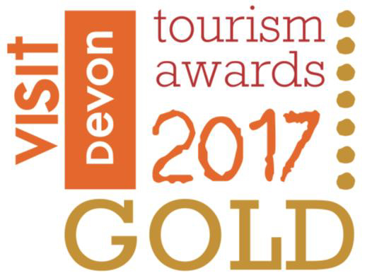 Visit Devon Tourism awards 2017 - Gold