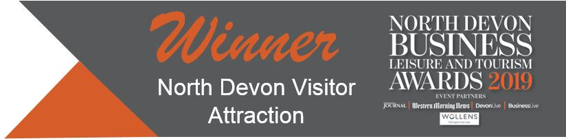 North Devon Visitor Attraction 2019 - Winner