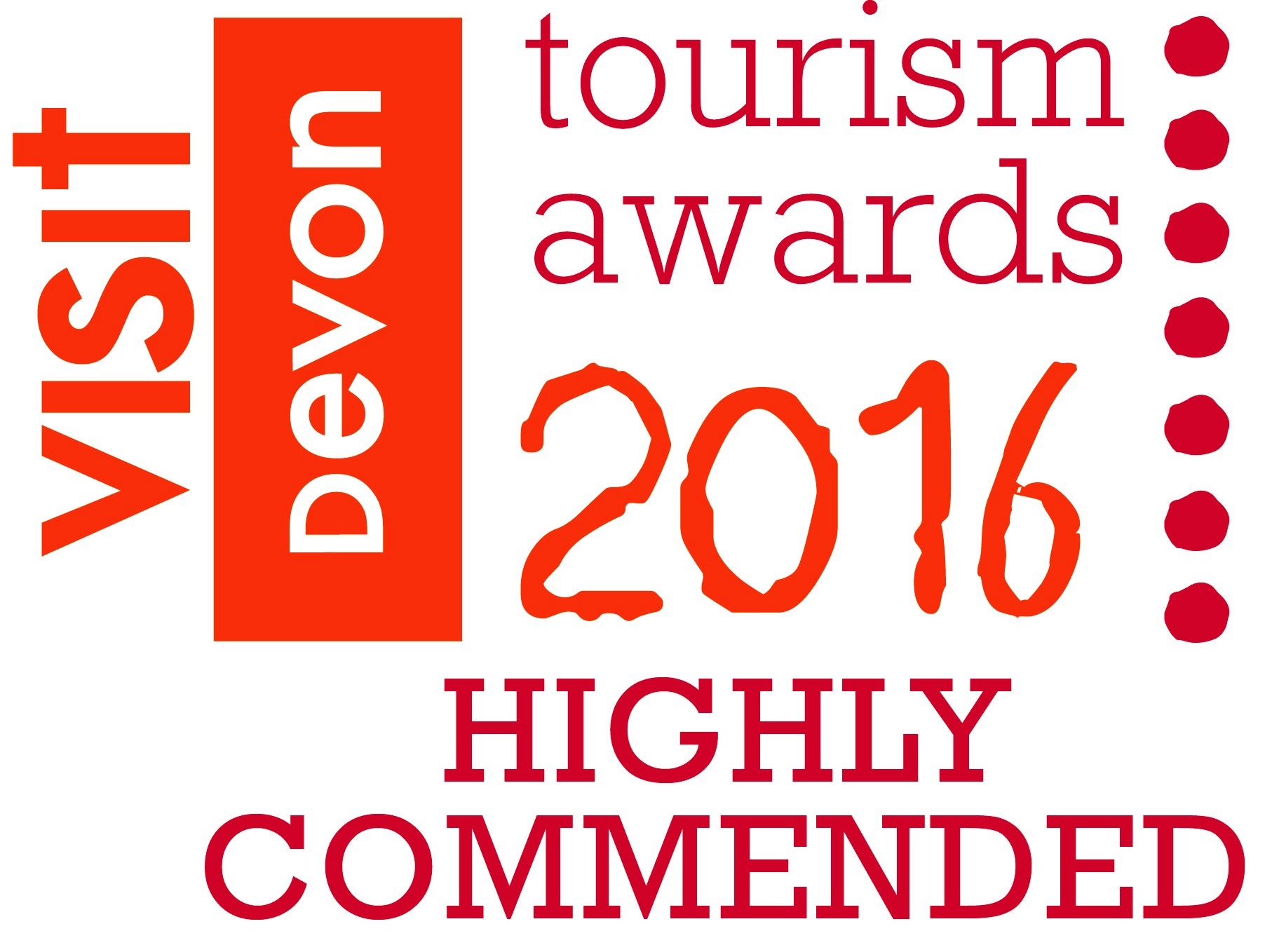 Visit Devon Highly Commended