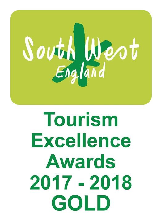 South West Tourism Excellence Gold 2017-2018