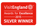 Visit England Awards for excellence Silver Winner