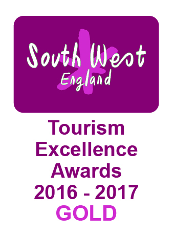South West Tourism Excellence Awards 2016/17 - Gold