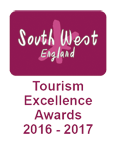 South West Tourism Awards -Tourism Excellence Award Gold