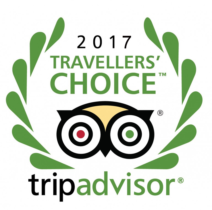TripAdvisor Travellers Choice Award