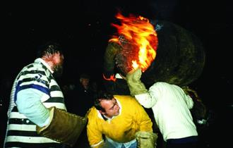 Tar Barrels at Ottery St Mary