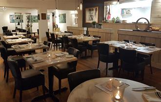 Broomhill Art Hotel restaurant