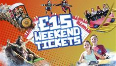 £15 weekend tickets
