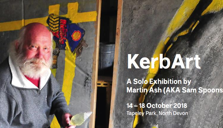 KerbArt : A Solo Exhibition by Martin Ash (AKA Sam Spoons)