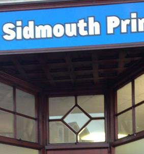 Sidmouth Print