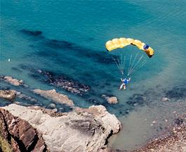 Base Jumper | North Devon