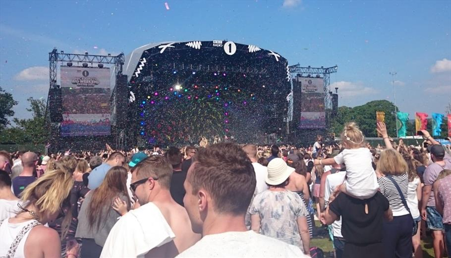 Radio 1 Big Weekend at Powderham Castle
