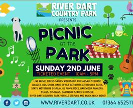 picnic at the park at river dart