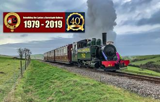 Lynton & Barnstaple Railway Father's Day - Dads travel 'Free'