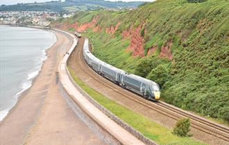Dawlish sea wall, GWR