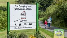 Lynton Camping and Caravanning Club Site