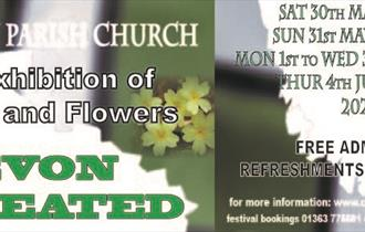 Devon Created - An Exhibition of Crafts and Flowers