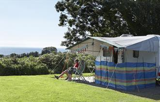 Slapton Sands Camping and Caravanning Club Site