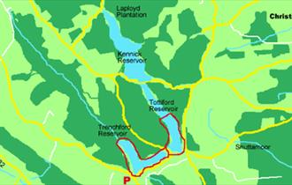 Trenchford and Tottiford reservoirs