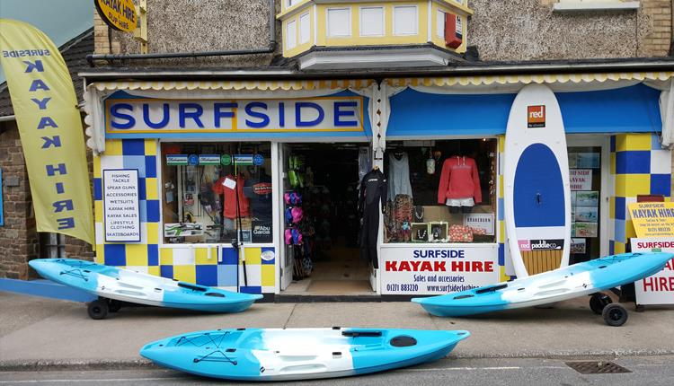 Surfside Kayak Hire