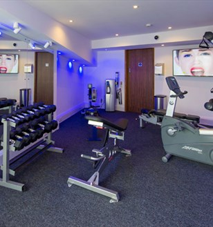 The Devon Hotel gym