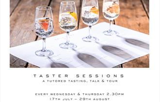 Salcombe Gin Taster Sessions