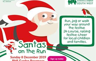 Santas on the Run Children's Hospice South West