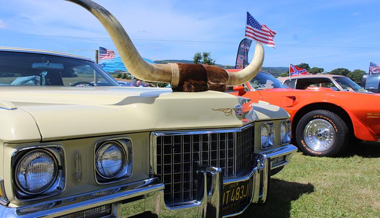 Cofton American Car Show Weekend
