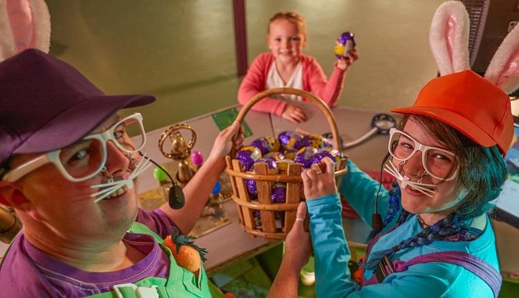Meet the Easter Bunny in the Magical Easter Grotto