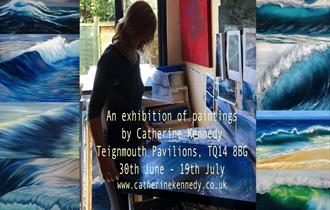 Solo art exhibition by Catherine Kennedy