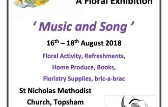 Topsham Flower Club Floral Exhibition