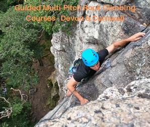 Guided Multi-Pitch Rock Climbing