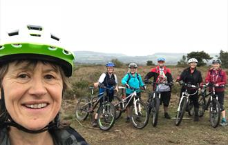 Women's mountain bike weekend