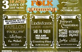 Ilfracombe Folk, Roots & World Music Festival