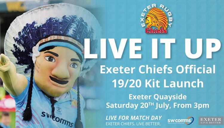 Exeter Chiefs Kit Launch 2019