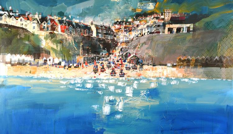 Mike Bernard RI Solo Art Exhibition - Exploring Devon's Jurassic Coast & Countryside