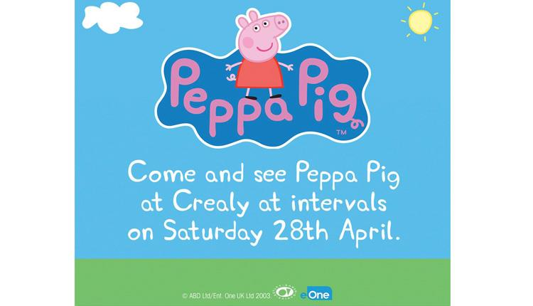 Meet Peppa Pig at Crealy!