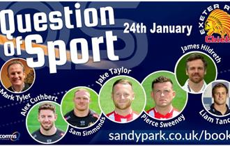 Question of Sport at Sandy Park