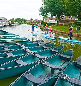 Devon Canoe & Rowing Boat Hire