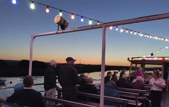 stuart line cruises sunset