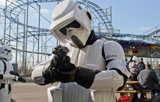Meet Star Wars Characters at The Milky Way