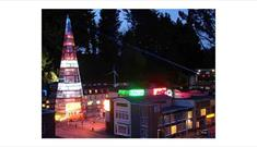Evening Illuminations 2018 at Babbacombe Model Village