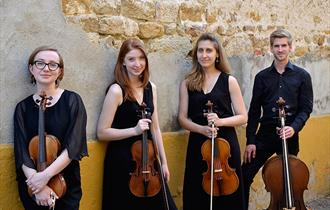 Workshop with Consone Quartet: for violinists, violists, cellists
