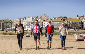 Active England Beach walk